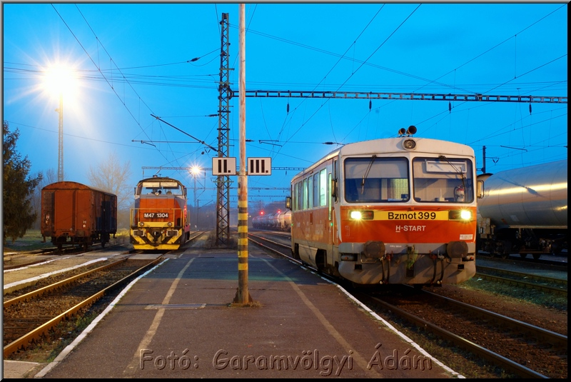 M47 1304 és Bzmot 399 Tiszaújvárosban fotó