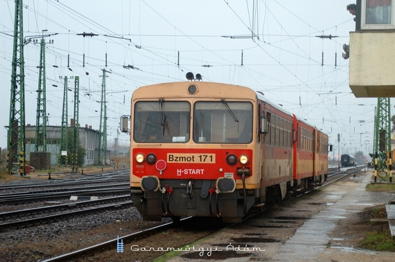 Bzmot 171 tolat Szerencsen fotó