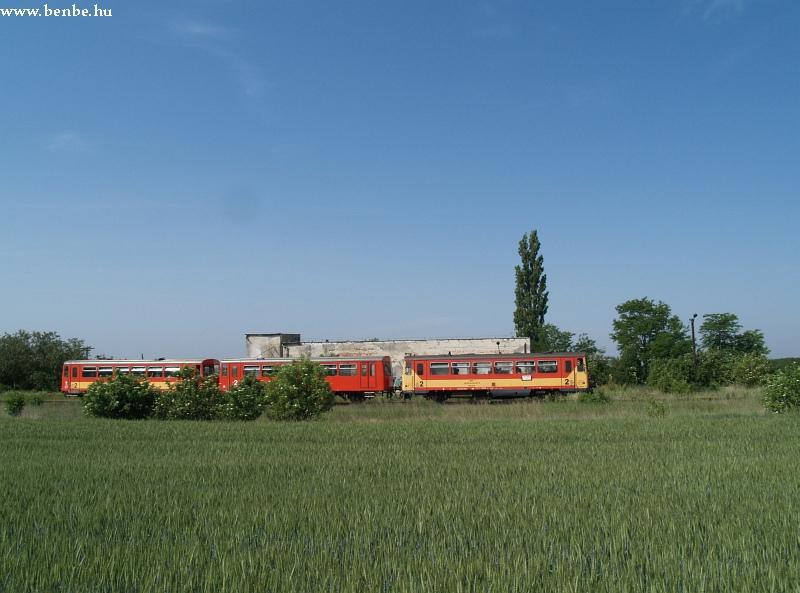 Bzmot 257 Bodakajtor-Felsõszentiván mrh.-en fotó