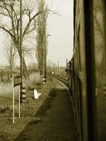 Vonatablakb�l
