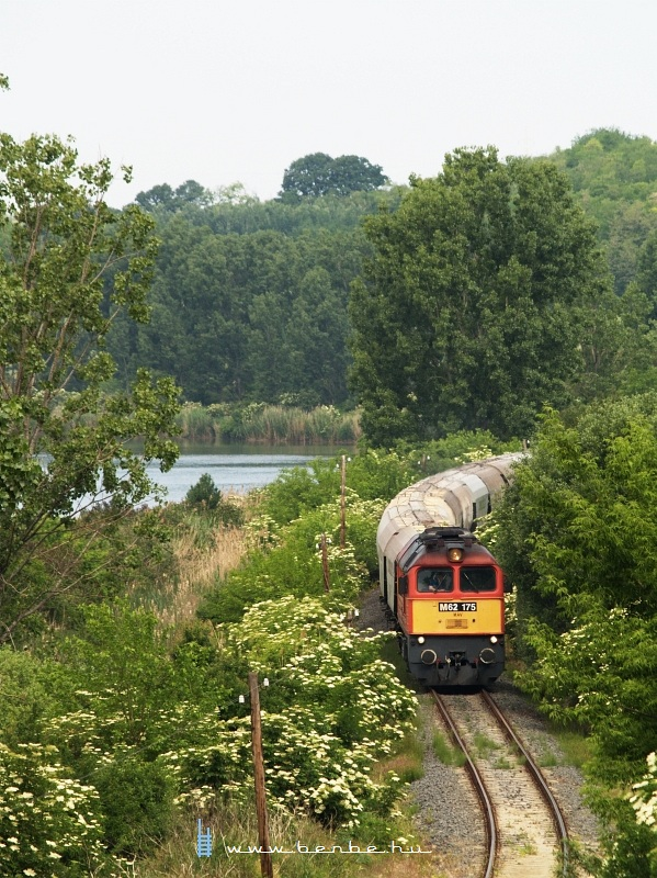 The M62 175 on the Keszõhidegkút-Gyönk - Tamási line photo