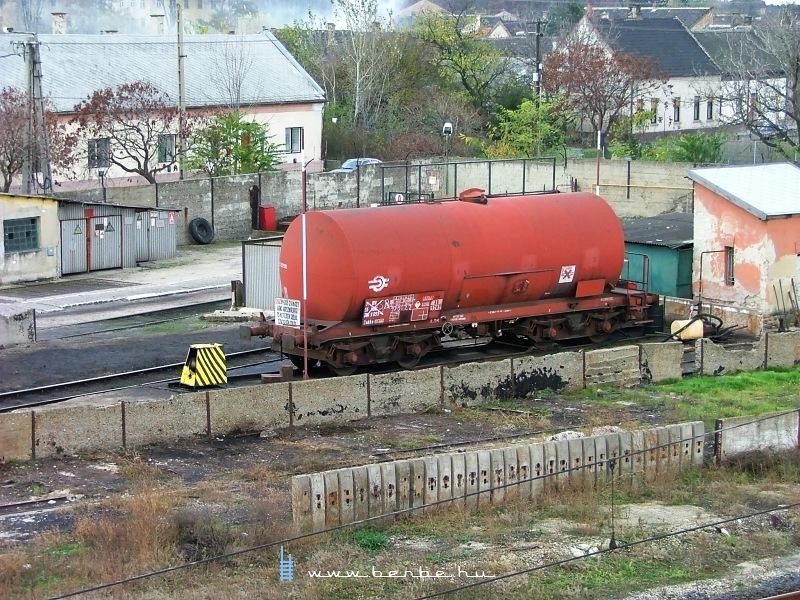 A régi olajkút Komáromban fotó