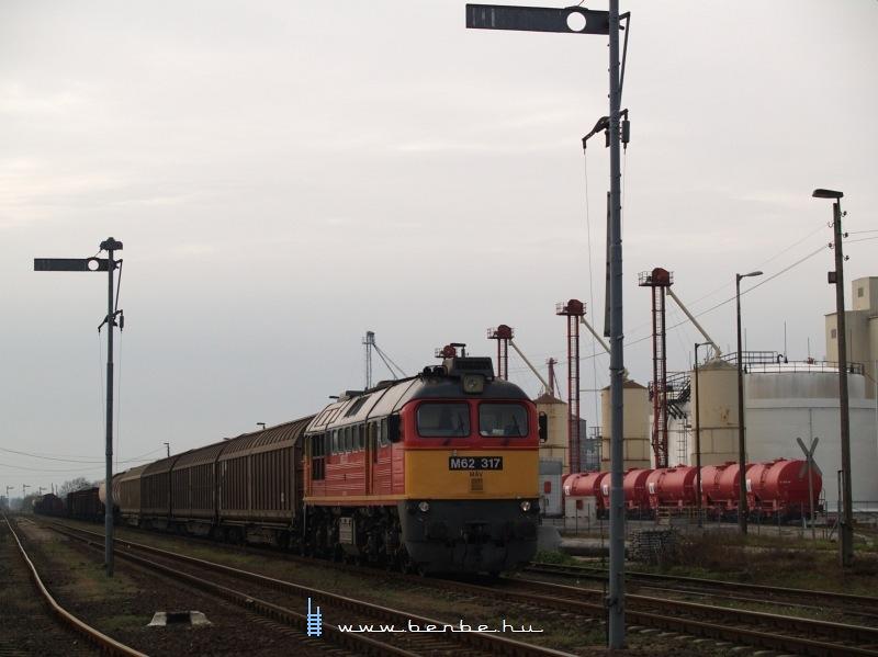 M62 317 Nagyigmánd-Bábolna állomáson fotó