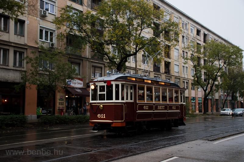 The BKVT S-típus 611 seen a photo