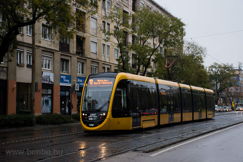 The BKV CAF Urbos 2207 seen photo