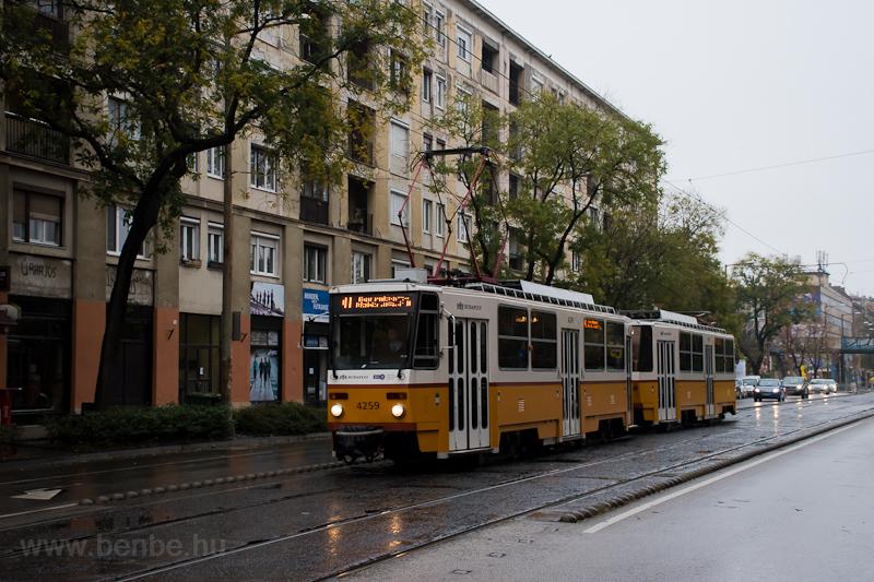 The BKV Tatra T5C5 4259 see photo