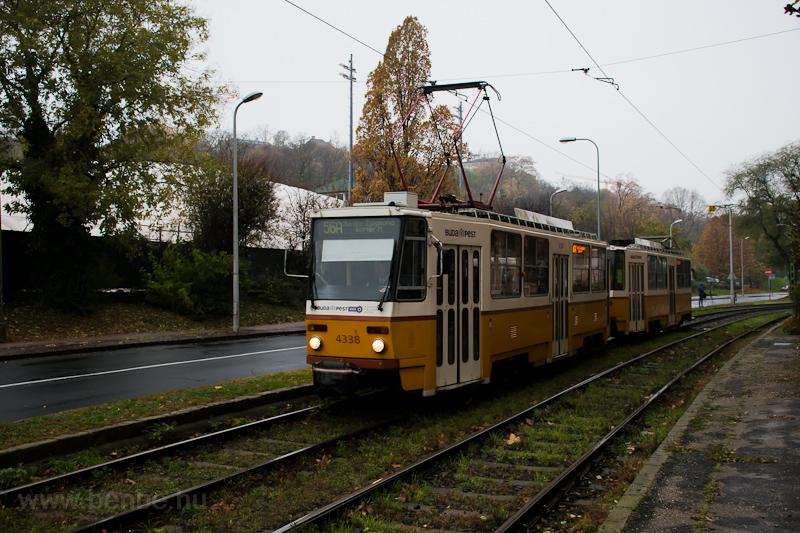 The BKV Tatra T5C5 4338 see photo