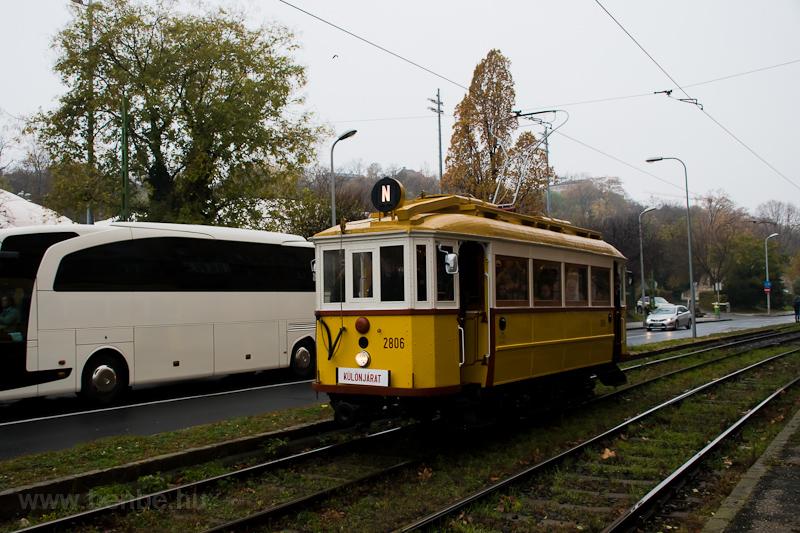 A BKV K-típus 2806 a Kriszt fotó