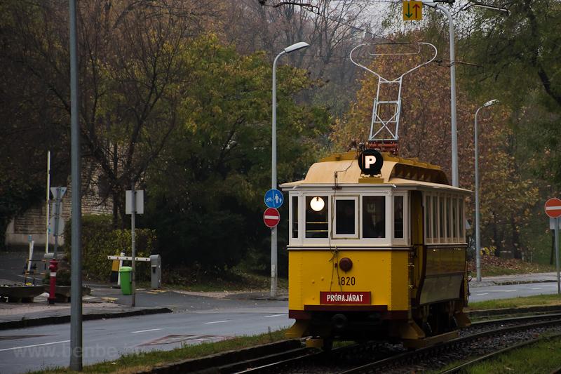 The BSzKRt S-típus 1820 see photo