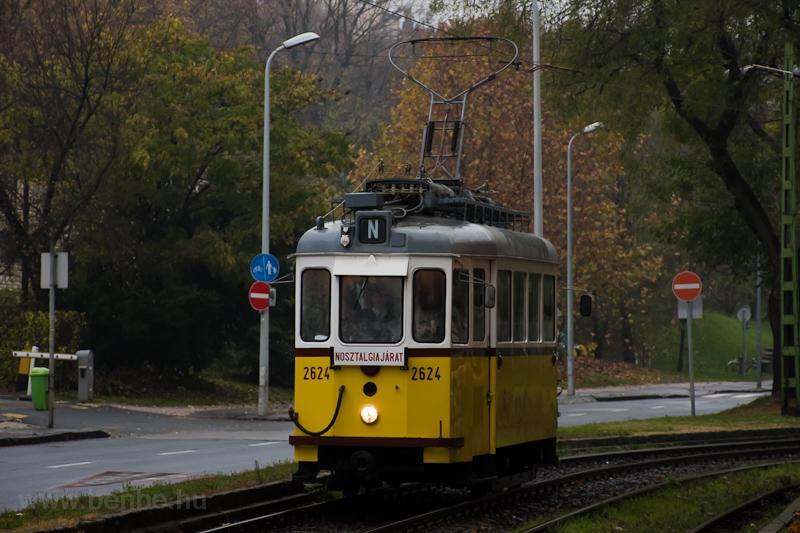The BKV G-típus 2624 seen a photo