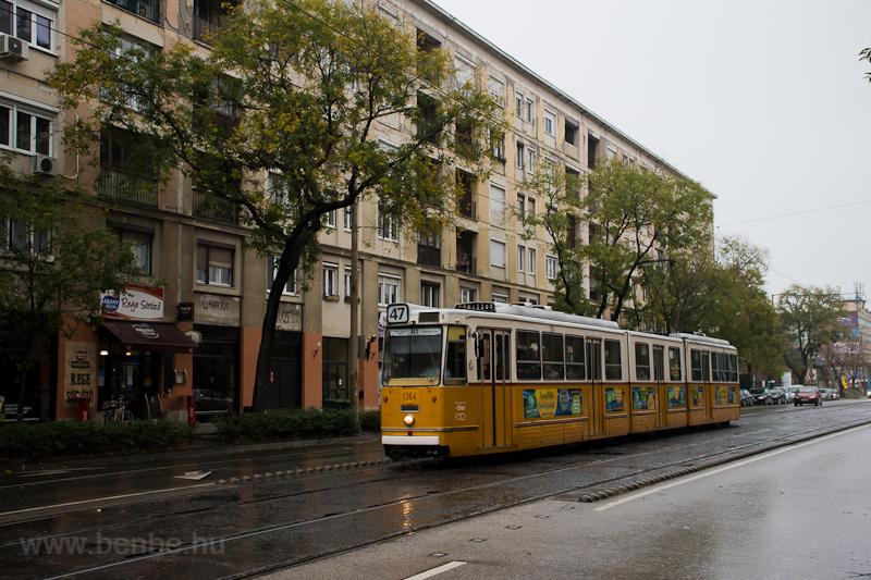 A BKV ICS 1364 a Fehérvári  fotó
