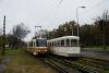 A BKV FVV-csuklós 3720 és a 4274-es Tatra T5C5 a Krisztina körúton