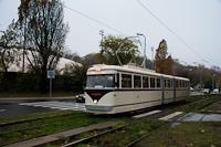 A BKV FVV-csuklós 3720 a Krisztina körúton
