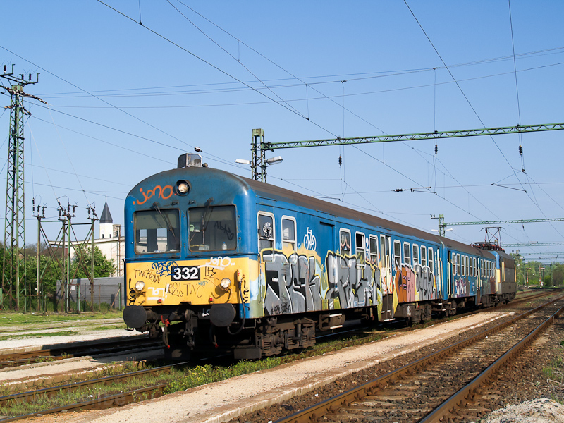 The BDt 332 seen at Galgamá photo