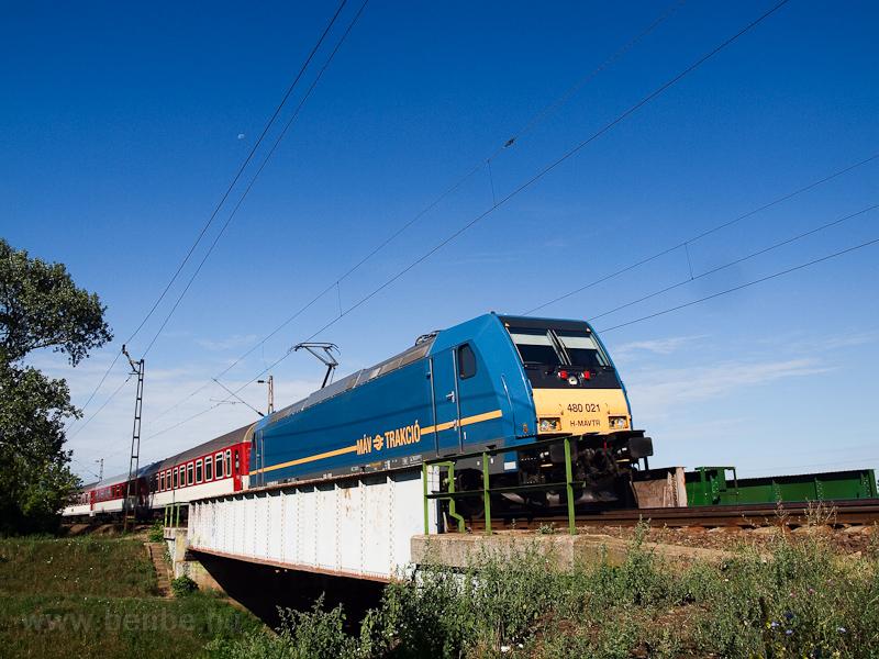 A MÁV-TR 480 021 Hatvan és Hort-Csány között  fotó