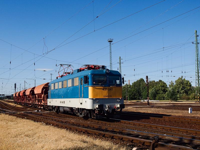 A MÁV-TR 431 041 Hatvan áll fotó