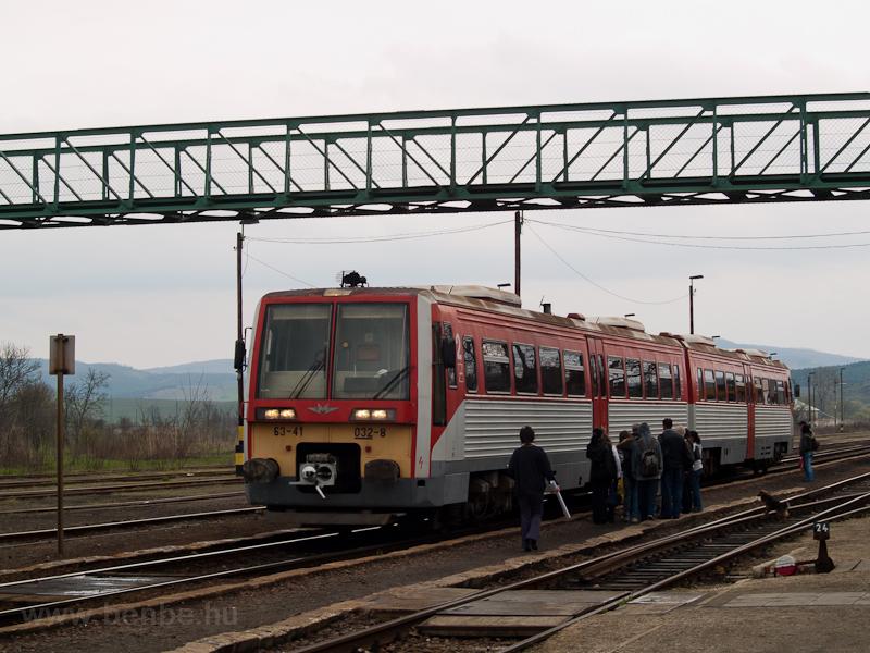 A 6341 032-8 Pásztó állomás fotó