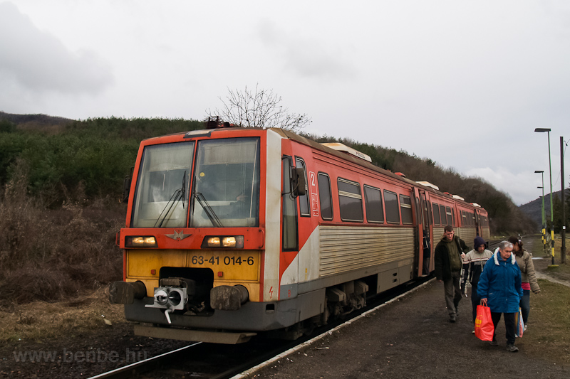 The 6341 014-6 seen at Mátr photo