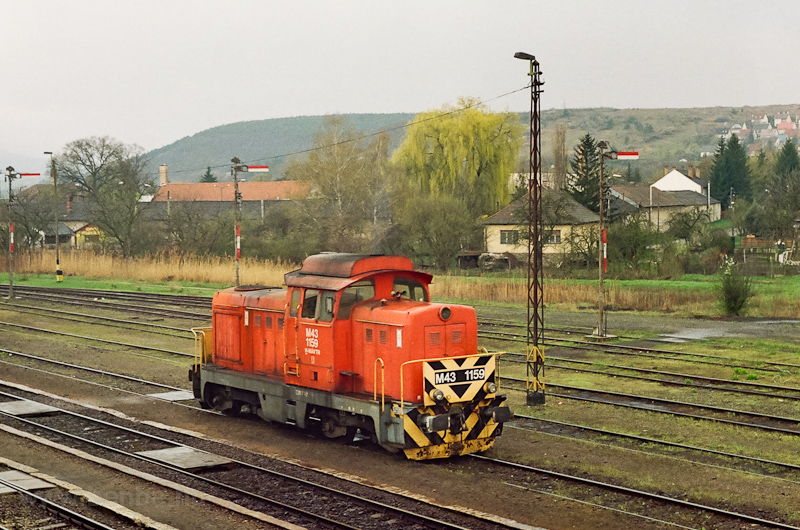 The MÁV-TR M43 1159 seen at Kisterenye photo