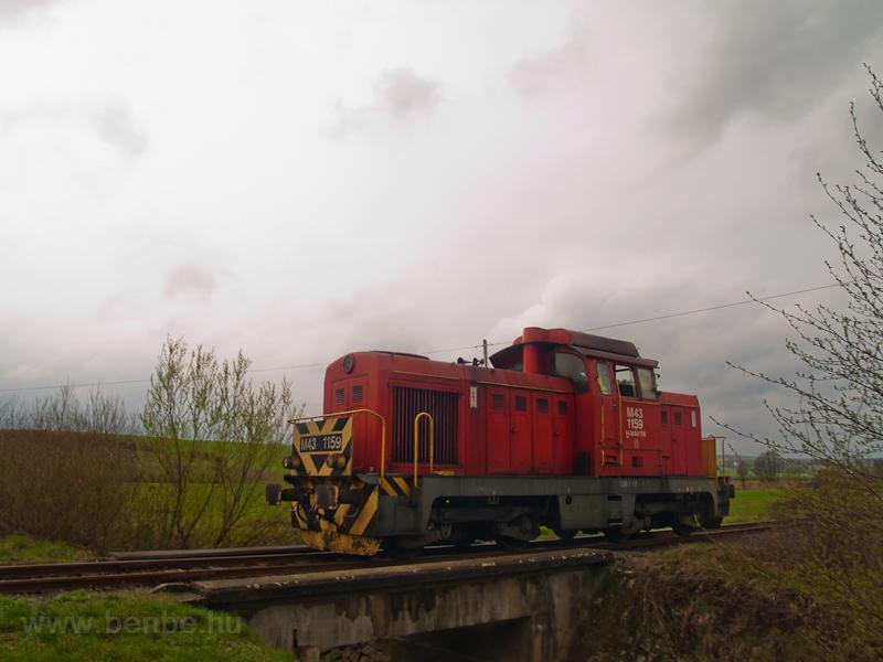 A MÁV-TR M43 1159 Nemti és  fotó