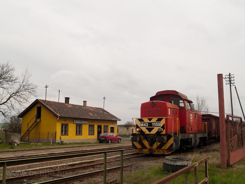 A MÁV-TR M43 1159 Mátramind fotó