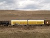 Transwaggon side-swivel wall twin freight car