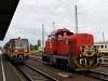 A 6341 014-6 és az M43 1081 Hatvan állomáson