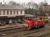 A MÁV-TR M43 1159 Kisterenye állomáson