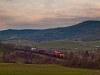 A MÁV-TR M62 224 Somoskőújfalu és Salgótarján között Az előbb látott, kétmozdonyos tehervonatot egy Szergej is le tudja vinni Hatvan-rendezőig.
