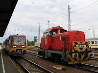 The 6341 014-6 and the M43 1081 seen at Hatvan