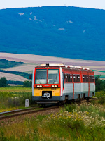 The 6341 024-5 is seen between P�szt� and Szurdokp�sp�ki stations