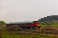 The MÁV-TR M43 1159 seen between Nemti and Kisterenye