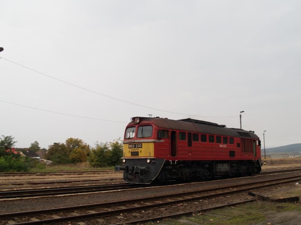 M62 230 gépmenetben Kisterenyén fotó