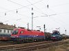 The M�V-Cargo 1116 016-5 and V42 527 at K�l-K�polna station