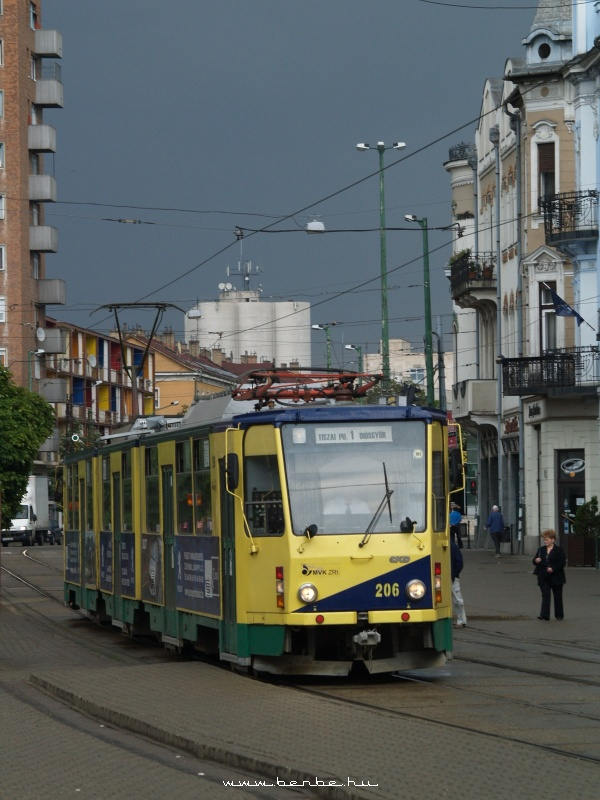 Az 1-es villamos Miskolcon fotó