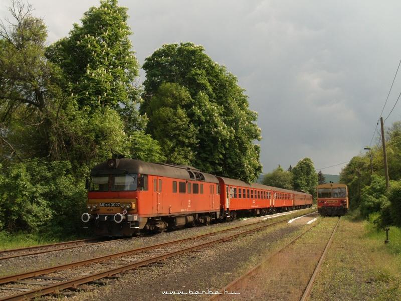 MDmot 3027 és Bzmot 176 Szilvásvárad mrh.-en fotó
