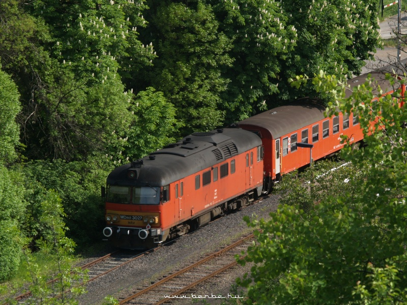 MDmot 3027 Szilvásvárad mrh.-en fotó