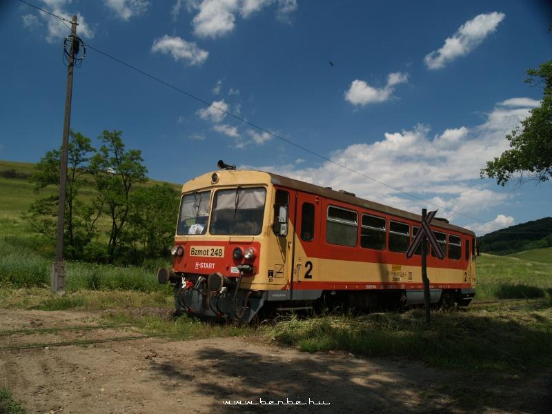 The Bzmot 248 between Putnok and Királd photo
