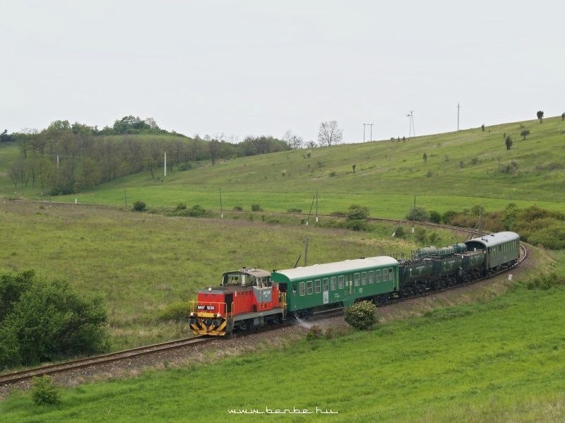 The M47 1235 with the weed-killer train photo