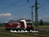The TRAXX electric locomotive 481 001-0 of Eurocom at Kazincbarcika