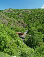 A Bzmot on the Szarvask� viaduct