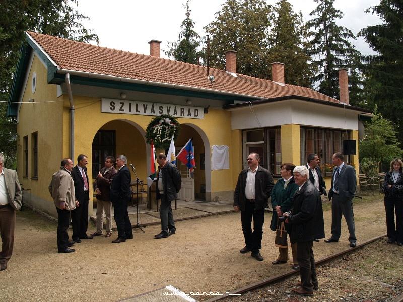 Szilvásvárad megálló-rakodóhely felvételi épülete fotó
