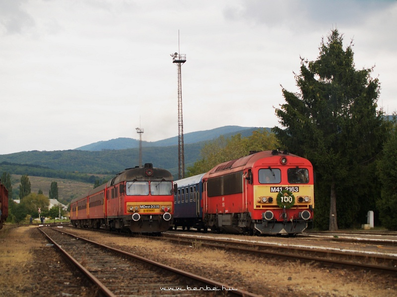 MDmot 3025 és M41 2163 Bélapátfalván fotó