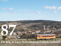 English:      87: A few photos of the Eger-Szilvásvárad-Putnok railway