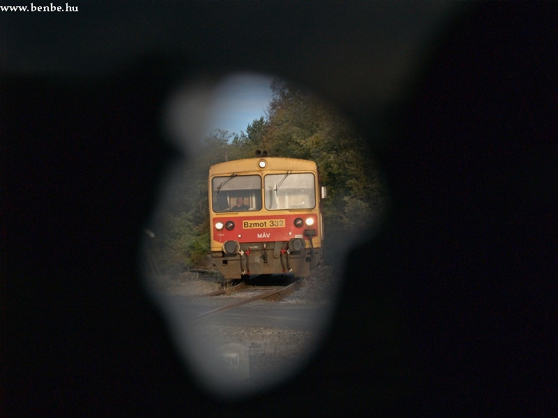 Bzmot 332 a sátai sorompónál fotó