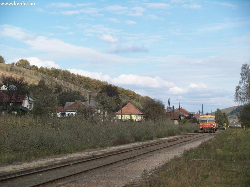 Bzmot 332 Királd állomáson fotó