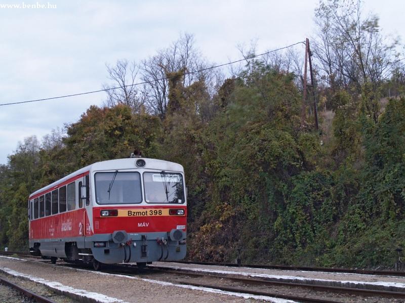 Bzmot 398 Szilvásvárad állomáson fotó