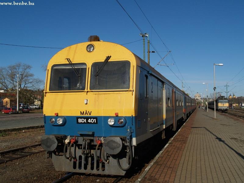 BDt 401 Eger állomáson fotó