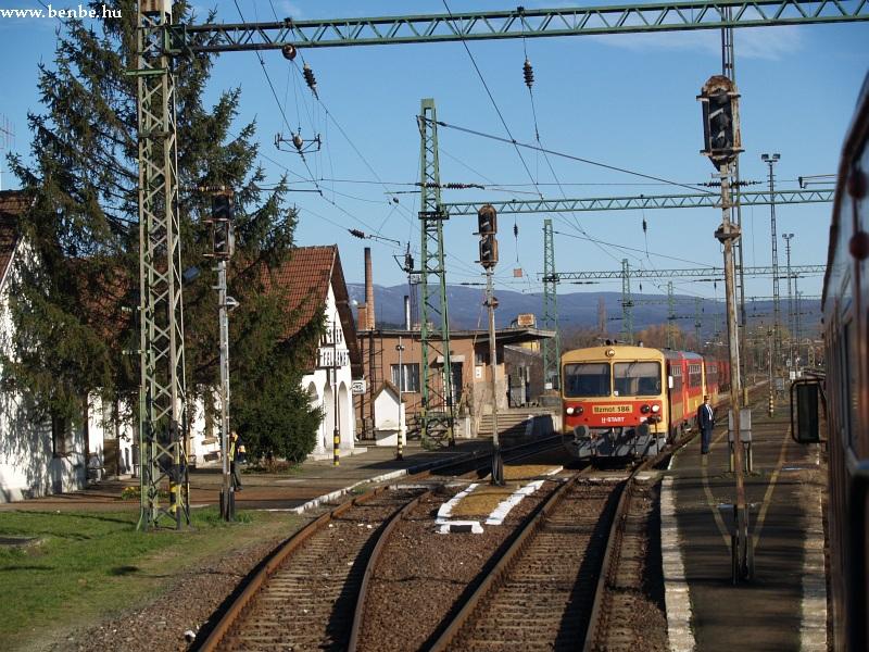 Bzmot 186 Eger-Felnémet állomáson fotó