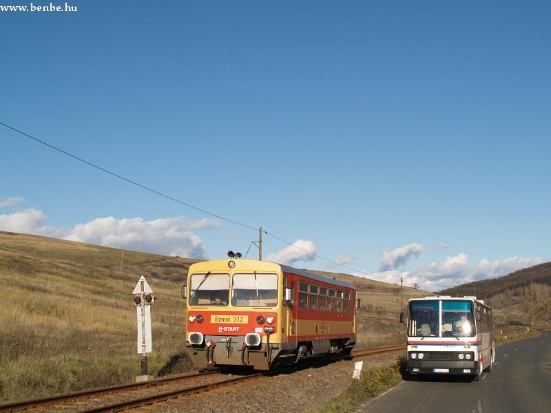 Bzmot 312 és a buszunk együttállása fotó